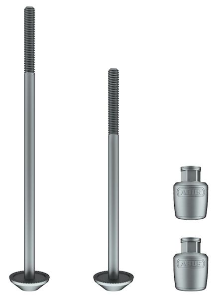 Abus anti-theft device NutFix Axle-Set 34.9 silver