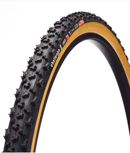 Challenge Limus Cross Tubular schwarz / braun - Cyclocross Reifen