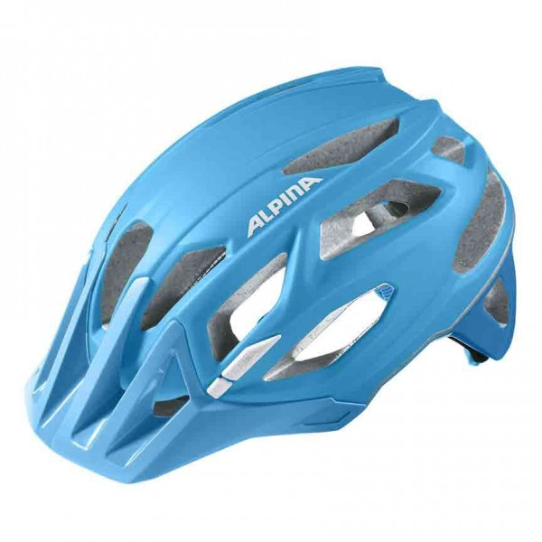 Alpina Garbanzo Helm blue white %