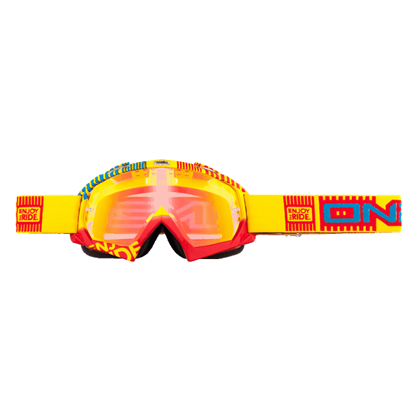 ONeal B-Flex Goggle ETR yellow/red/radium