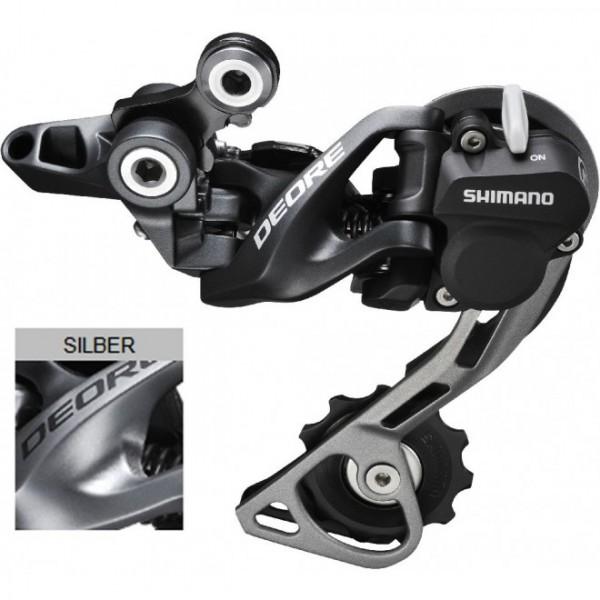 Shimano Deore Schaltwerk RD-M615 SGS Shadow+ silver