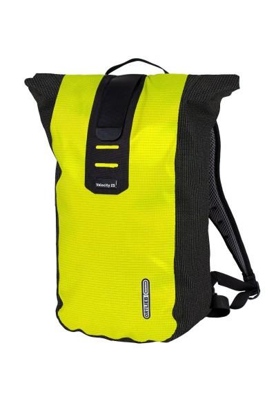 Ortlieb Velocity High Visibility neon yellow-black reflective
