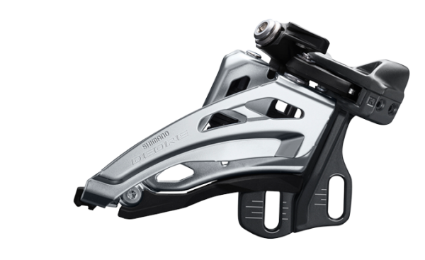 Shimano Deore front derailleur FD-M6000 2x10 Side-Swing, direct mount high