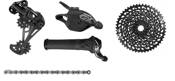 SRAM Upgrade Kit GX Eagle™ - GXP 1x12-speed - black