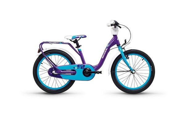 S´COOL niXe 18 Aluminium 3-Gang violet/blue %