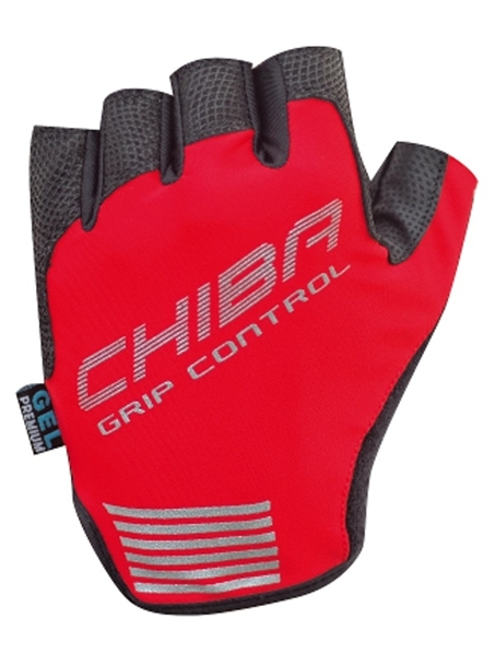 Chiba Grip Control Handschuh rot %