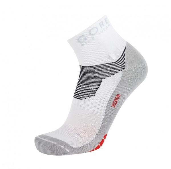 Gore Bike Wear Xenon Socken white / red