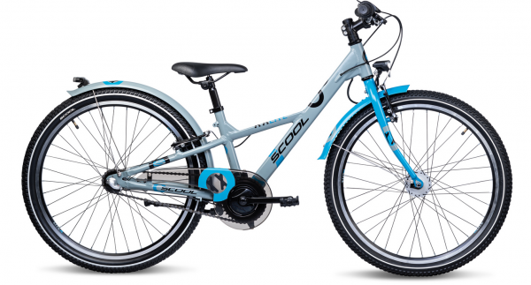 S´COOL XXlite 24 alloy 3-speed grey/petrol