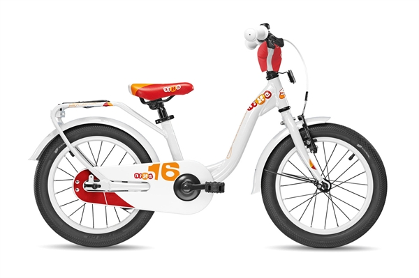 S´COOL niXe 16 alloy 1-speed white/red