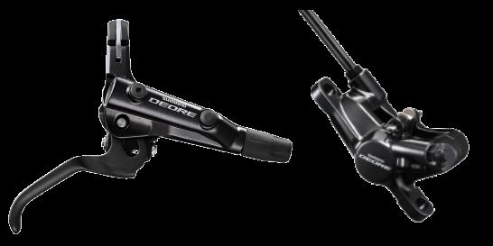 Shimano Deore Scheibenbremse M6000 schwarz - vorne