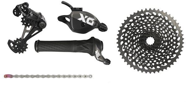 SRAM Upgrade Kit X01 Eagle 1x12-fach - schwarz