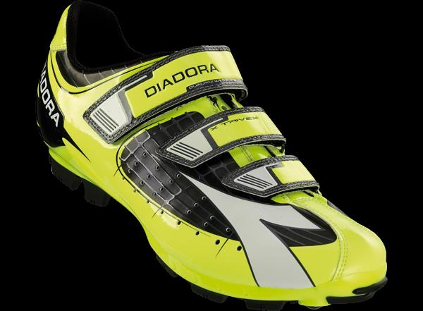 Diadora X-Trivex MTB-shoe Black/Yellow