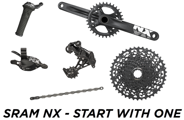 SRAM Complete Groupset NX 1x11 with GXP Crank
