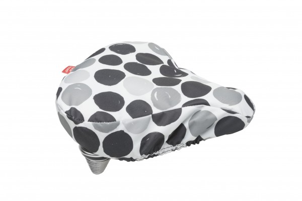 New Looxs Dots Saddle Cover Black