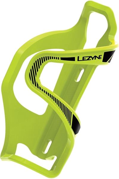 Lezyne Wasserflaschenhalter Flow Cage E grün-schwarz / links
