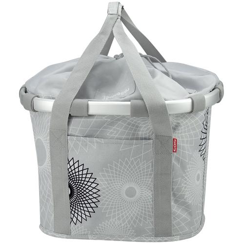 Reisenthel KLICKfix Bikebasket Tasche crystals light grey