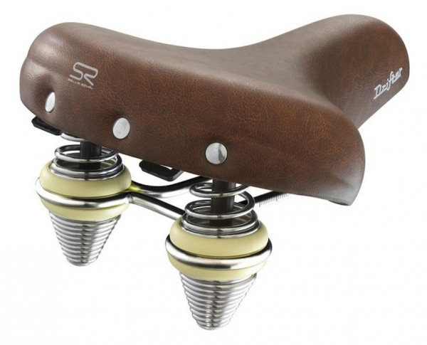 Selle Royal City Saddle Drifter Premium Comfort Relaxed brown