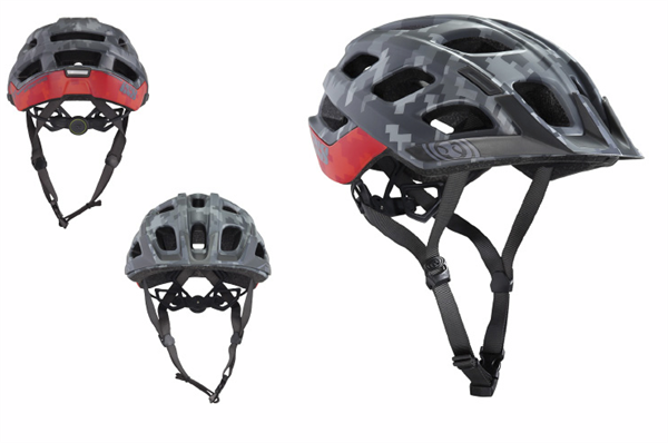 IXS Trail XC Helm hans rey edition red