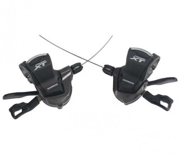 Shimano Schalthebel Deore XT SL-M8000 Paar 2/3x11-fach, Schelle