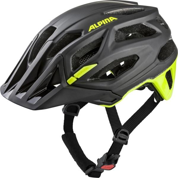 Alpina Garbanzo Helm black-neon-yellow
