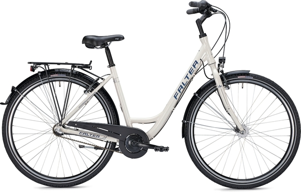 "Falter City/Urbanbike C 2.0 28"" glänzend creme"