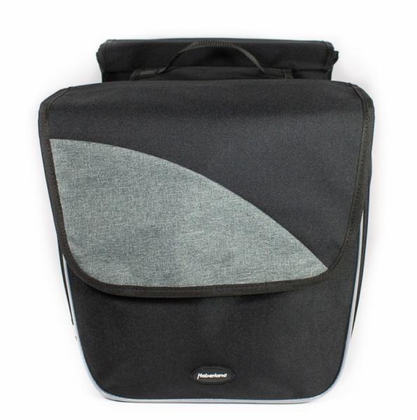 Haberland Doppeltasche Einsteiger XL schwarz