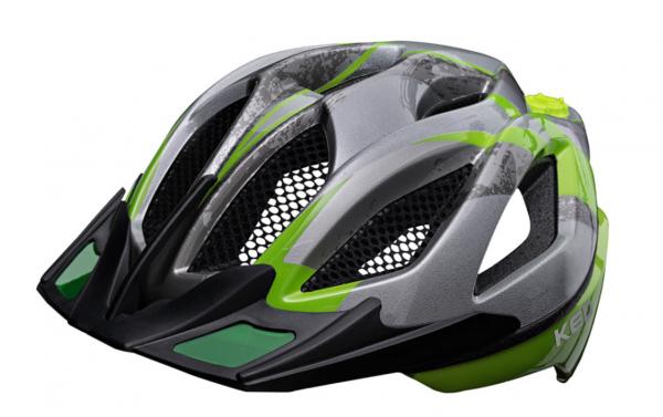 KED Spiri II K-STAR MTB Helm Green K-Star