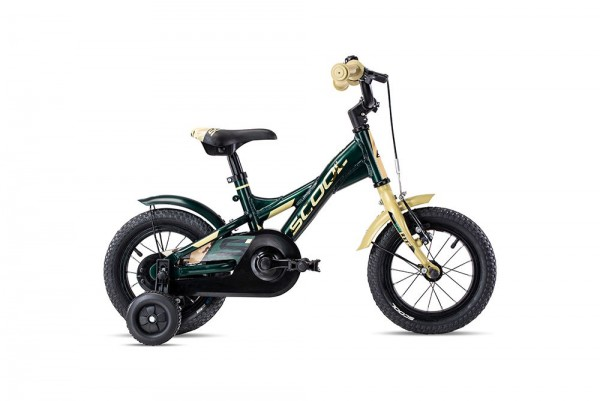 S´COOL XXlite 12 alloy 1-speed olive/camouflage