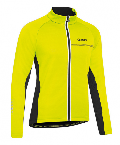 Gonso Diorit Herren Thermo Jacke safety yellow