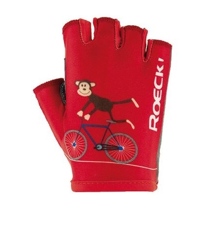 Roeckl Kids Toro Bicycle Glove red