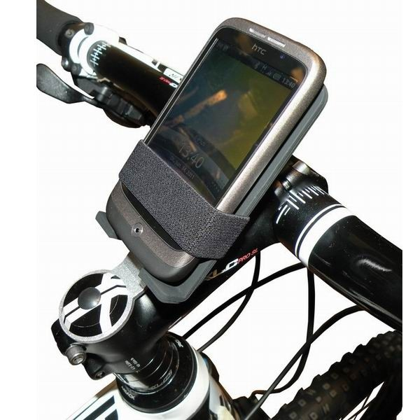 Khaloo Multi-electronic device stand for bicycles black