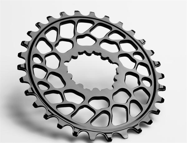 absoluteBlack Chainring Oval MTB Sram BB30/ 0mm offset