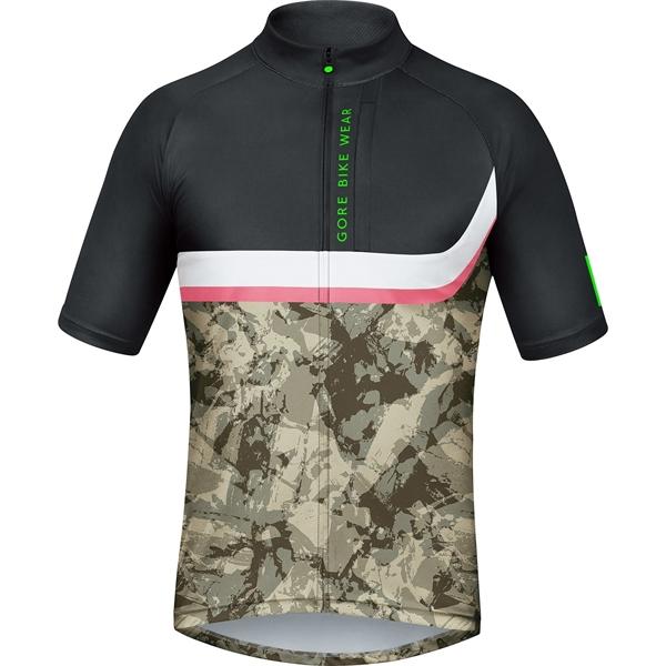 Gore Bike Wear Power Trail Jersey camouflage/black %