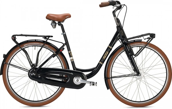 "Falter Classic Bike L 4.0 28"" glänzend schwarz"