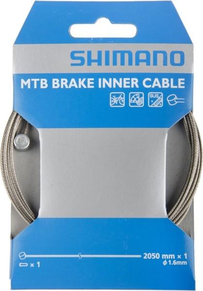 Shimano 1.6x2050mm Bremszug MTB