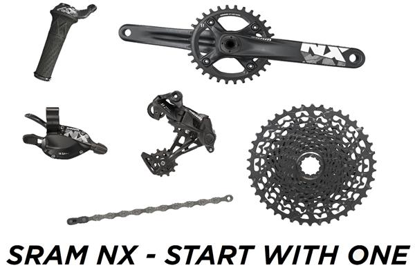 SRAM Complete Groupset NX 1x11 with BB30 Crank