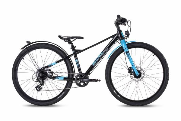 S´COOL XXLite Evo 26 alloy 8-speed black/cyan matt