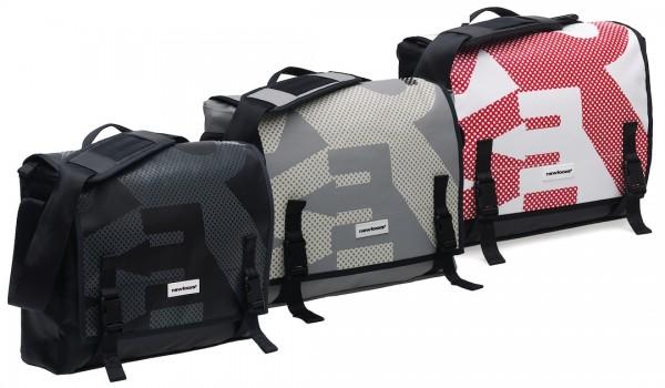 New Looxs shoulder bag Postino Office grey/black
