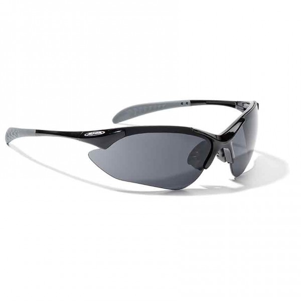 Alpina Tri-Quatox glasses black / clear / orange
