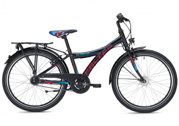 Falter FX 407 ND 24 inch Y black/red Kids Bike
