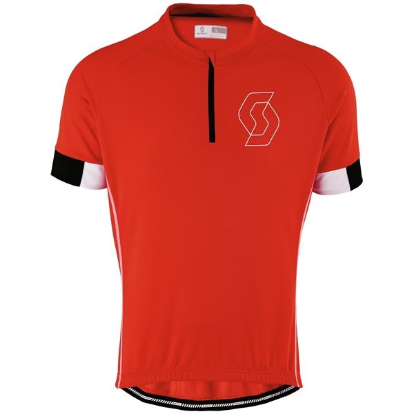 SCOTT Shirt Endurance 40 s/sl rot/weiß