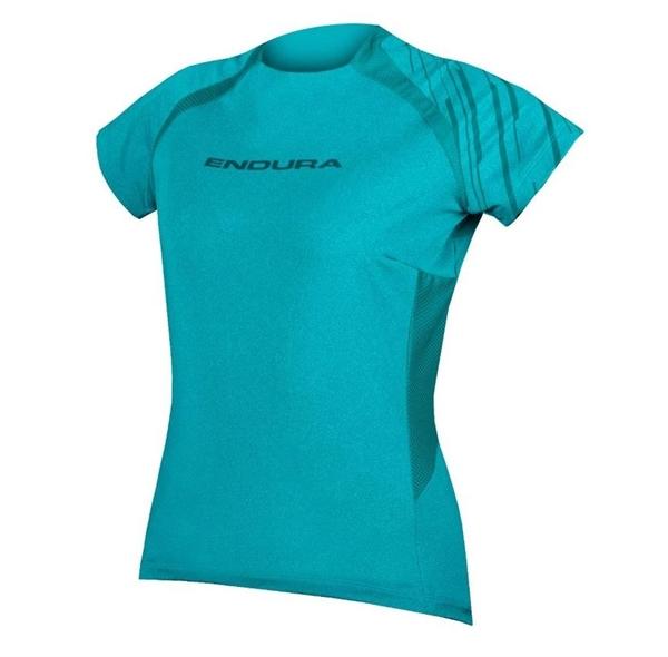 Endura WMS Singletrack S/S Jersey Damen Kurzarmtrikot pazifik blau