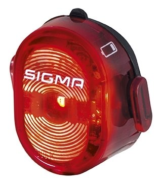 Sigma taillight Nugget II LED battery USB StVZO