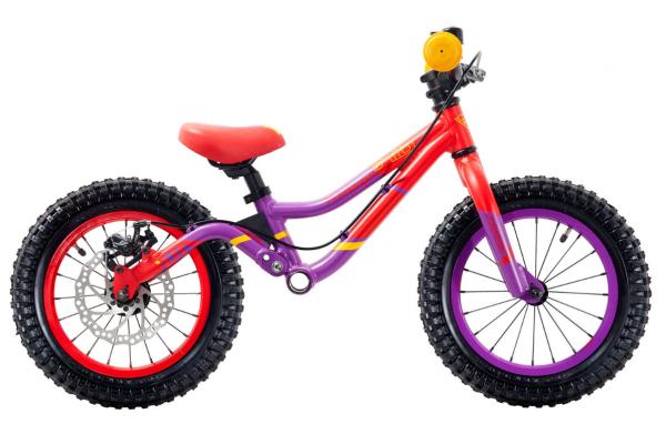 S´COOL pedeX Dirt 14 violet/red matt