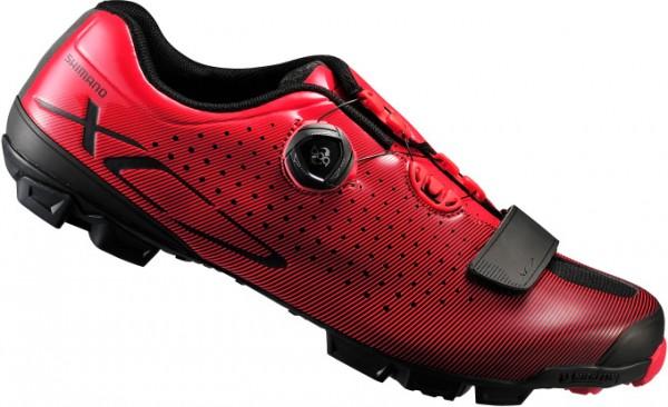 Shimano SH-XC7R MTB Schuhe rot