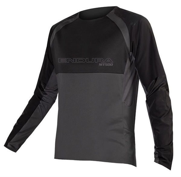 Endura MT500 Burner L/S Jersey black