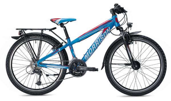 Morrison Mescalero S24 24 inch Diamant blue/orange Kids Bike