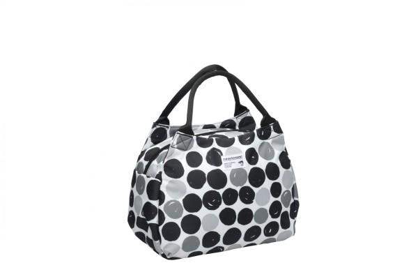 New Looxs Tosca Midi Klick Fix Bicycle Bag Dots Black