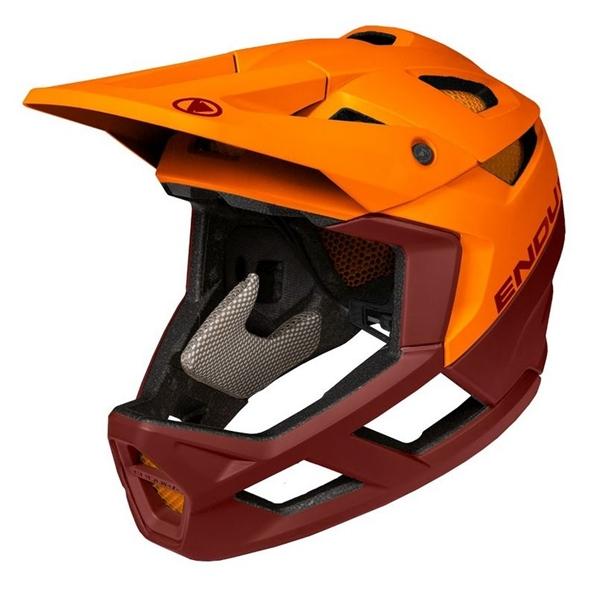 Endura MT500 Fullface Helmet forest tangarine