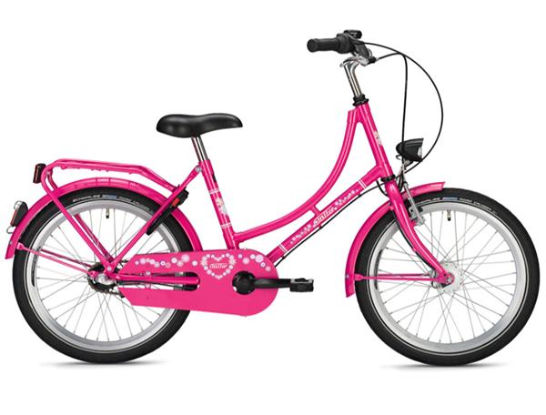 Falter Holland Kids 20 Zoll classic pink Kinderrad